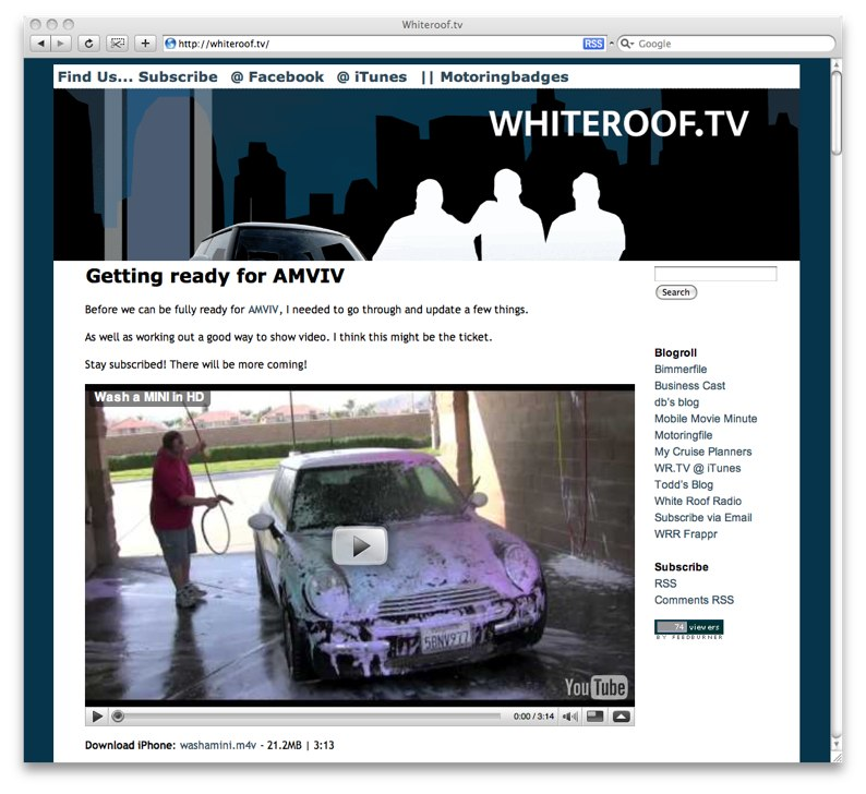whiteroof.tv link